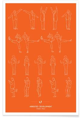 Arrested Development - Chicken Dance Poster