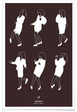 Seinfeld - Elaine's Dance Poster