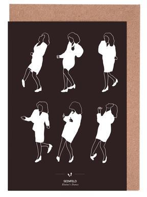 Seinfeld - Elaine's Dance Greeting Card Set