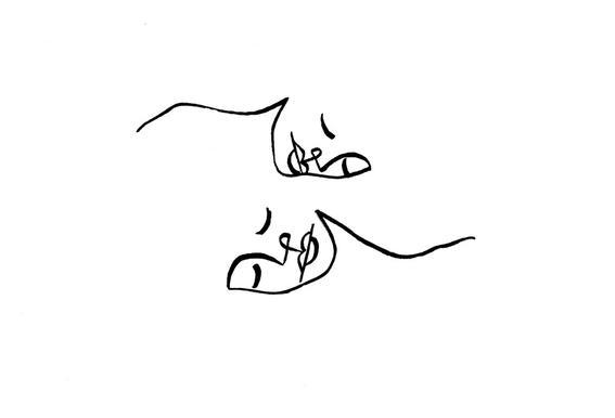 in love as poster by ninhol juniqe
