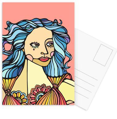 B-Girl Postcard Set