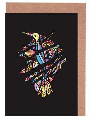 Birdwatching Set de cartes de vœux