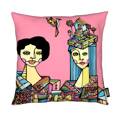 Portrait of a Couple Cushion