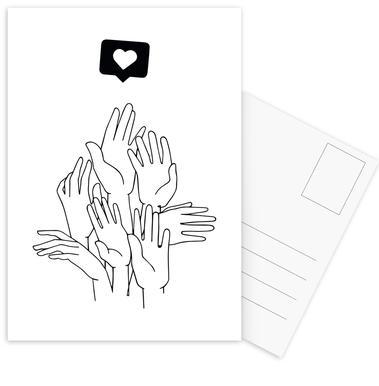 Fake Plastic Set de cartes postales