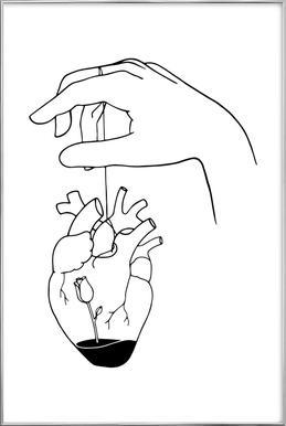 How Can You Mend a Broken Heart -Poster im Alurahmen