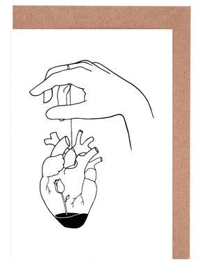 How Can You Mend a Broken Heart -Grußkarten-Set