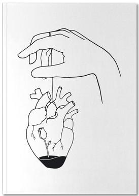 How Can You Mend a Broken Heart Notizbuch
