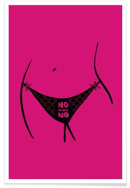 No Means No -Poster