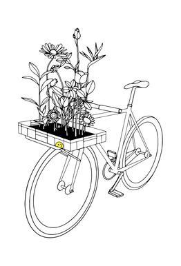 Wherever Flowers Go -Acrylglasbild