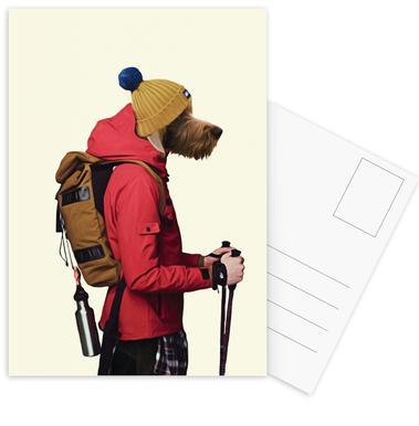 Mr Snow Postcard Set