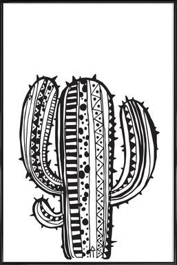 Kaktus Framed Poster
