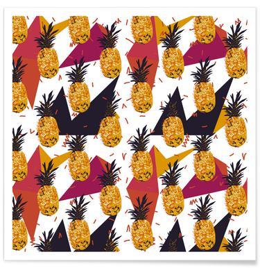 Pineapple Jam Poster
