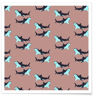 Blue Sharks Affiche