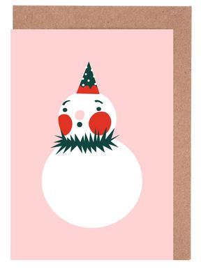 Frosty Set de cartes de vœux