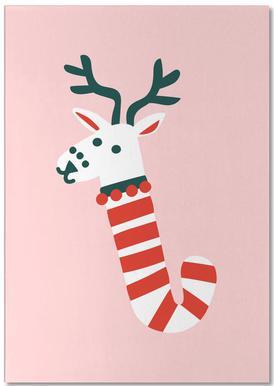 Peppermint Deer notitieblok