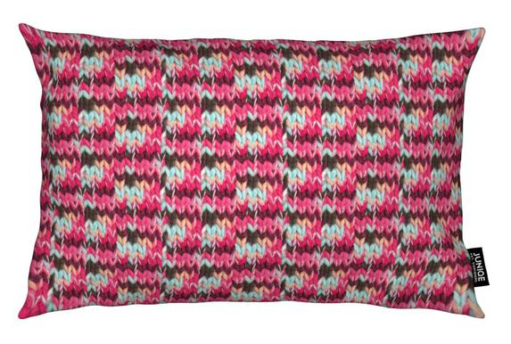 Pink Knit Cushion
