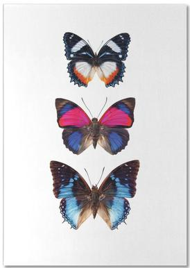 Butterfly 3 notitieblok