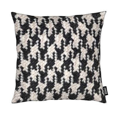 Houndstooth Pattern Cushion