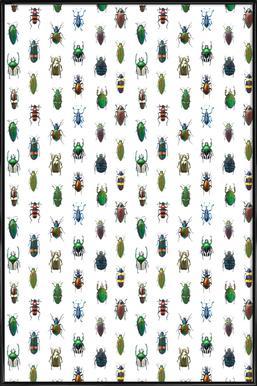 Beetles Framed Poster