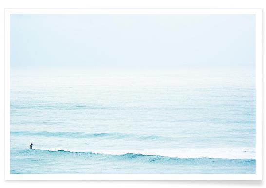 Winter Surfing Affiche