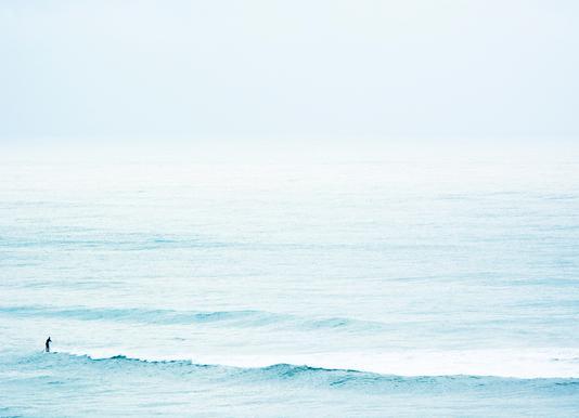 Winter Surfing Canvas Print