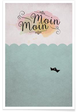 Moin Moin x Poster