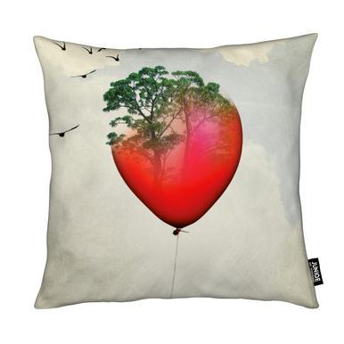 Red Balloon Cushion