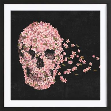 A beautiful death Poster in Wooden Frame