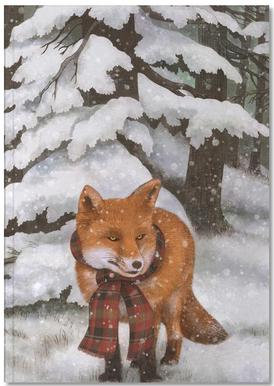 Winter Fox Carnet de note