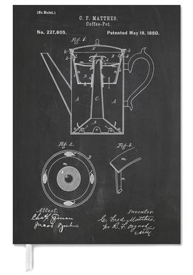 Coffee Pot Personal Planner