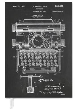Typewriter agenda