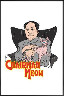 Chairman Meow Framed Poster