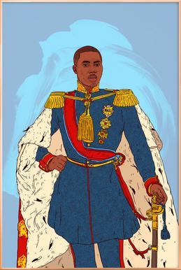 Rap Royalty 002 Poster im Alurahmen