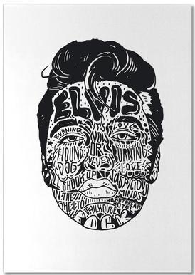 Elvis -Notizblock