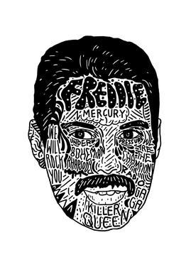 Freddie Acrylglasbild