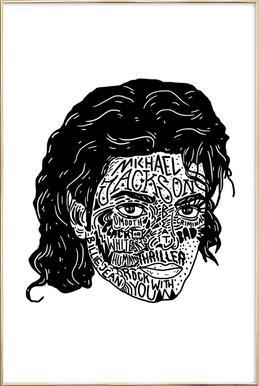 Mikey -Poster im Alurahmen