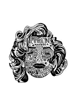 Marylin Acrylglasbild