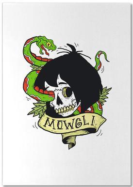 Mowgli Notizblock