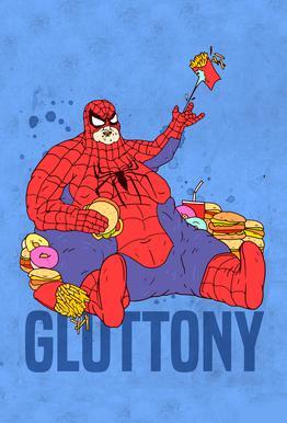 Gluttony Acrylglasbild