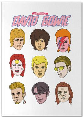 Bowie 2 Notizbuch