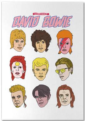 Bowie 2 Notizblock