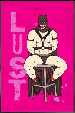 Lust Poster im Kunststoffrahmen