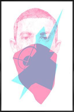 007 Poster im Kunststoffrahmen