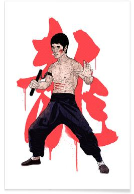 Bruce Lee -Poster
