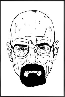 Walt -Bild mit Kunststoffrahmen