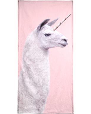 Llama Unicorn Serviette de bain