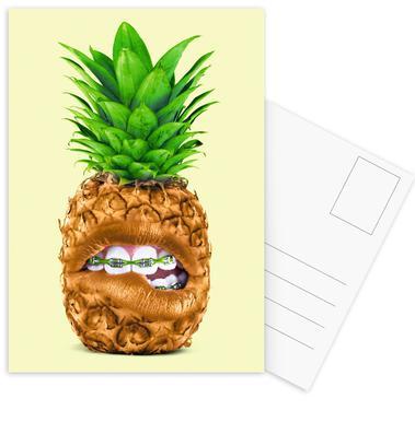 Teen Pineapple Postcard Set