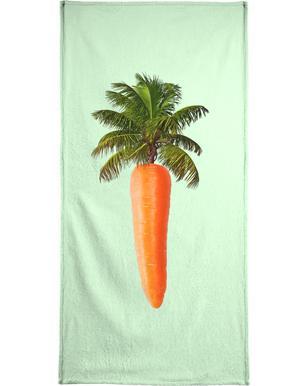 Palm Carrot handdoek