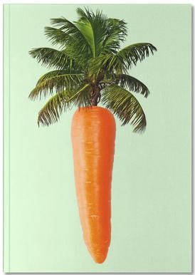 Palm Carrot Notebook