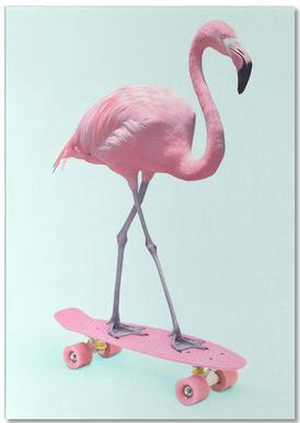 Skate Flamingo Notepad